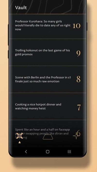 Gold日记